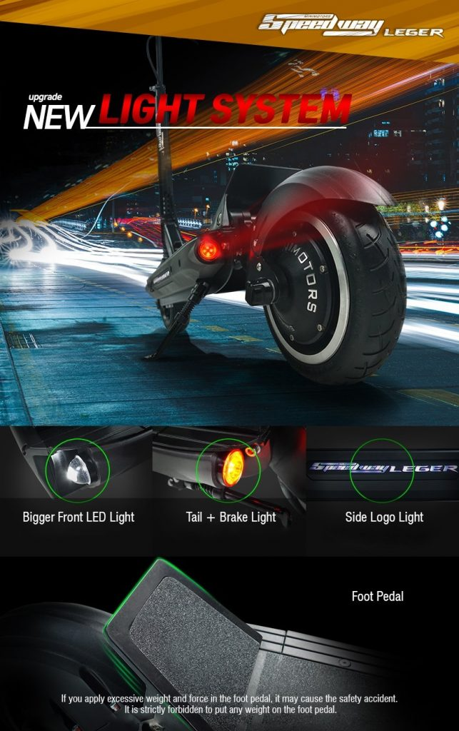 Speedway Leger (48V / 52V)
