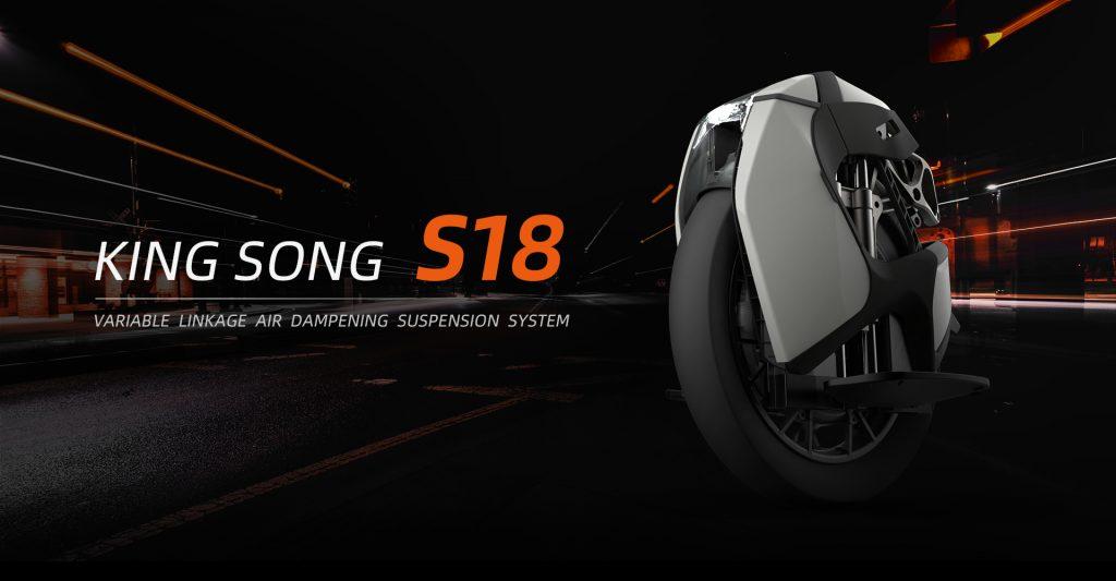 KINGSONG S18 (e-Unicycle)
